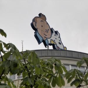 Enseigne Tintin et Milou